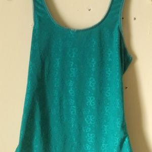 Womens Med Rampage Teal Cami
